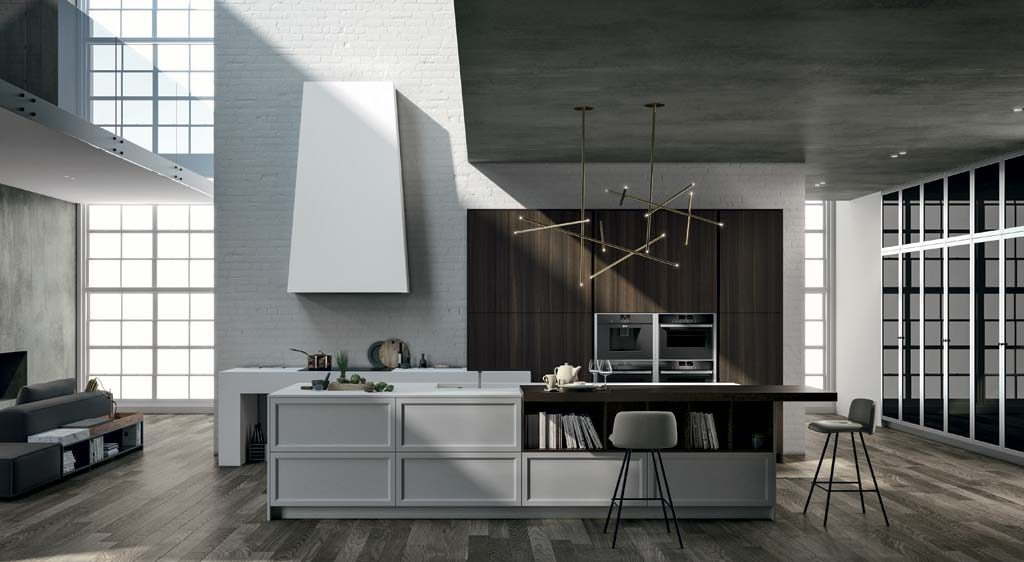 A contemporary classic style kitchen